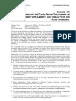 CDP-FGD on Urban Poor
