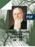 Acontecimientos Destacados de Joseph f. Smith