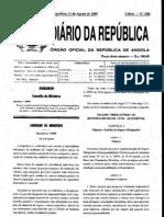 Iª Série - N° 150 - 11 de Agosto de 2009-seguro obrigatorio de responsabilidade civil automovel