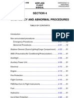 AFM Embraer 170 Emergency and Abnormal Procedures 1385 003 FAA SECTION04