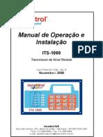 manual indicador de nível ultrassonico
