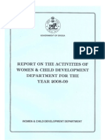 Annual Activity Report 2008-09 (English)