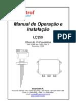 manual chave de nível condutiva capacitiva