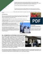 Comercio Guatemala