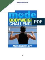 Bodyweight Challenges