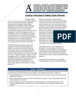OSHA Brief Safety Data Sheets