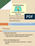 WRD104-335 Integrating Sources