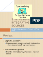 WRD104-335 Integrating Sources