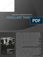 ANCILLARY MAGAZINE ADVERT