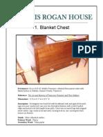 Francis Rogan House Furnishings Packet