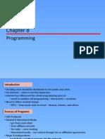 - Programming