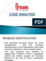 arun ice cream case study iima