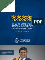 Plan de Desarrollo Regional Concertado - Lambayeque 2011-2021