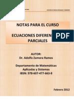 Notas-Ecuaciones Diferenciales Parciales