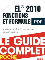 Excel 2010 Le Guide Complet