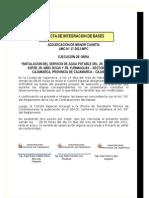 INSTALACION DEL SERVICIO DE AGUA POTABLE DEL JR. SANTA SARITA, ENTRE JR. NIÑO JESUS Y JR. YURIMAGUAS – SECTOR 19 NUEVO CAJAMARCA, PROVINCIA DE CAJAMARCA – CAJAMARCA