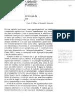 Guba y Lincoln Paradigmas en Competencia en La Investigacion Cualitativa