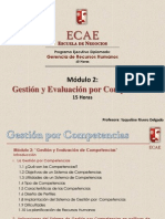 Presentacion Modulo 2 Gestion y Evaluacion Por Competencias