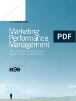 Web Trends - Marketing Performance Management