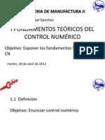 I FUNDAMENTOS TEÓRICOS DEL CONTROL NUMÉRICO.pptx