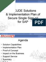 SAP SECUDE Presentation v 1.0