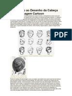 Introdução ao Desenho da Cabeça do Personagem Cartoon