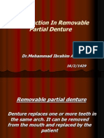 Classification of Partially Edentulous Arches (1)