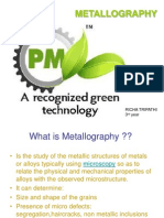 Powder Metallography by Richa