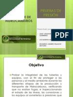 PRUEBAS DE PRESIÓN