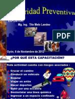 Seguridad Preventiva en Mineria
