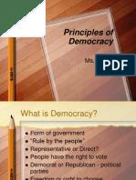 Democracy Principles