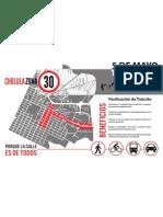Cholula Zona 30 (Infografía)