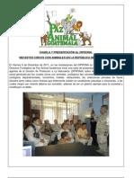 PAGT CHARLA y PRESENTACIÓN a DIPRONA Dic 2011.