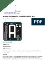 Arduino – Programação ( Atualizado em 14 de set. ) « Kemper.com