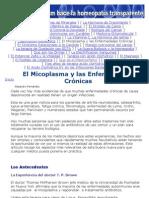 El Micoplasma y las Enfermedades Crónicas