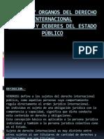 Sujetos y Organos Del Derecho Internacional Exposicion Grupo 3