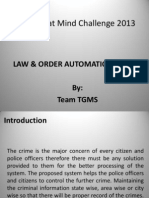 PPT Law & Order