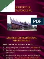 ARSITEKTUR TRADISIONAL MINANGKABAU