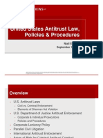 Us Antitrust Law Policies and Procedures