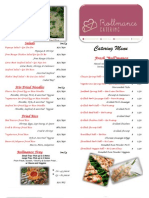 rollmance menu