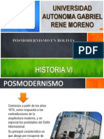 POSMODERNISMO EN BOLIVIA.pptx
