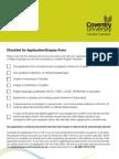 CULC Checklist