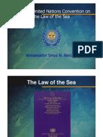 La Ley Del Mar. Satian Nanda Unclos2 Brazil Rio Present08
