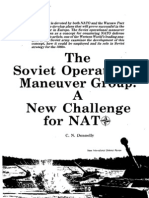 The Soviet OMG - A New Challange for NATO