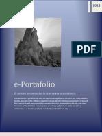 e-portafolio EVALUACIÓN DEL APRENDIZAJE (from Control Académico CUNPROGRESO)