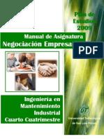 Man Negociacion Empresarial 2009 UTSLP