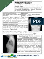 Poster. Caso clinico Diagnostico radiologico de absceso mamario