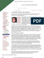 Godrej Builds 'Sampark' With Distributors - E-Business - Express Computer India