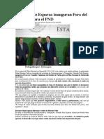 30-04-2013 Sexenio - RMV y Ruiz Esparza inauguran Foro del Consulta para el PND.pdf