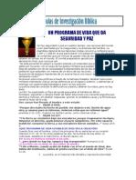 Tema 11 Un Programa de Vida Que Da Seguridad y Paz